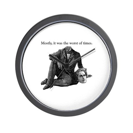 Worst of Times Wall Clock