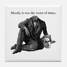 Worst of Times Tile Coaster