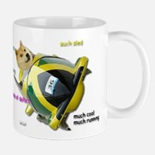 Doge funded Jamaican Bobsled Team Mugs