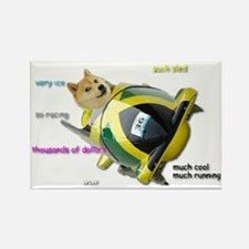 Doge funded Jamaican Bobsled Team Magnets
