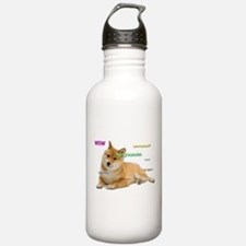 Such Wow Doge Water Bottle