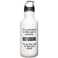 Yarnaholic Water Bottle