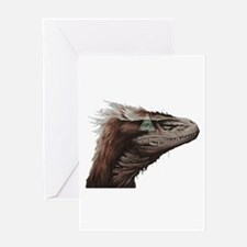 Illuminati Raptor Greeting Cards