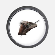 Illuminati Raptor Wall Clock