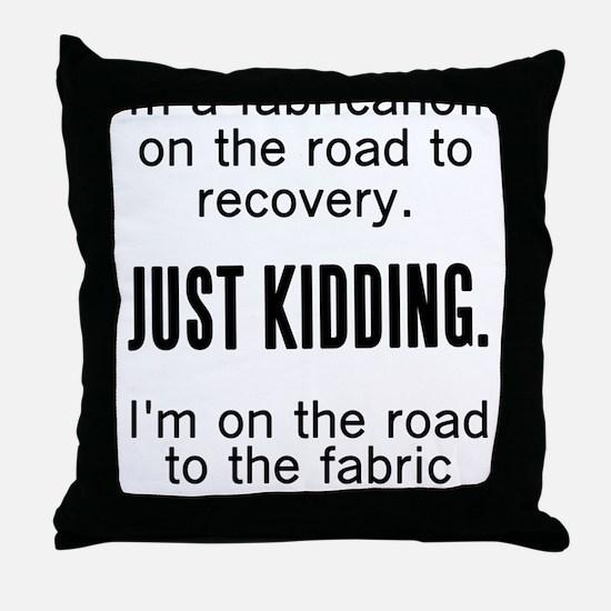 Funny Crafts Throw Pillow