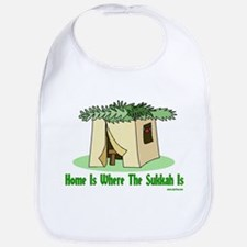 Home Is Where The Sukkah Is Bib
