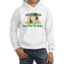 Home Is Where The Sukkah Is Hoodie
