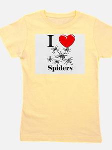 Cute Spider Girl's Tee
