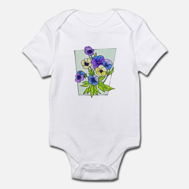 Pansy Infant Bodysuit