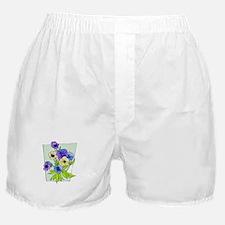 Pansy Boxer Shorts