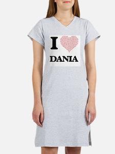 Cute Dania Women's Nightshirt