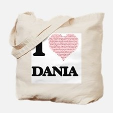 Funny Dania Tote Bag