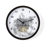 Firefighter Tattoo Wall Clock