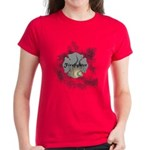 Firefighter Tattoo Women's Dark T-Shirt