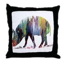 Babirusa Throw Pillow