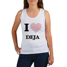 Funny Deja Women's Tank Top