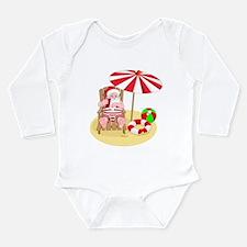 beach santa claus Body Suit