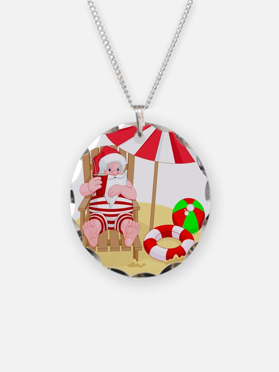 Hawaiian santa jewelry designs on