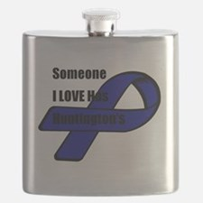 Cute I love someone autism Flask
