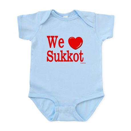 We Love Sukkot Infant Bodysuit