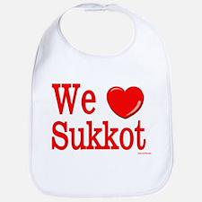 We Love Sukkot Bib