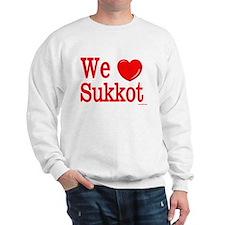 We Love Sukkot Sweatshirt