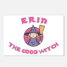 Erin the Good Witch Postcards (Package of 8)