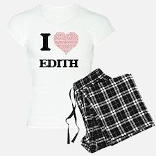 I love Edith (heart made fr Pajamas