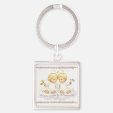 Let us love one another Keychains