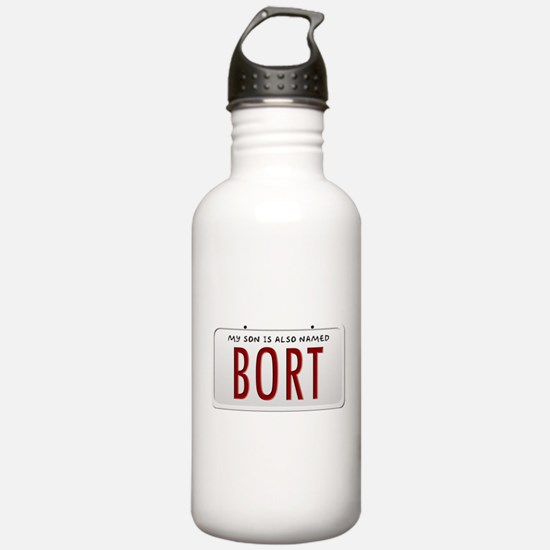 My Son is Also Named B Water Bottle