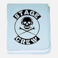 Stage Crew baby blanket