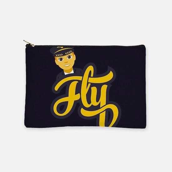 Emoji Pilot Fly Makeup Bag