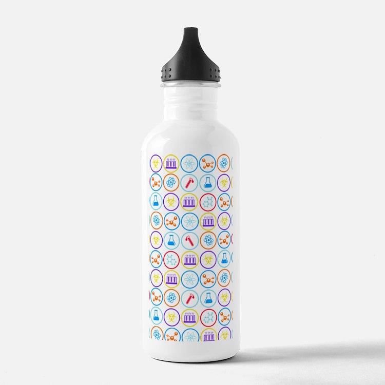 Cute Lab Water Bottle
