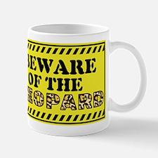 Beware of the Leopard Mugs