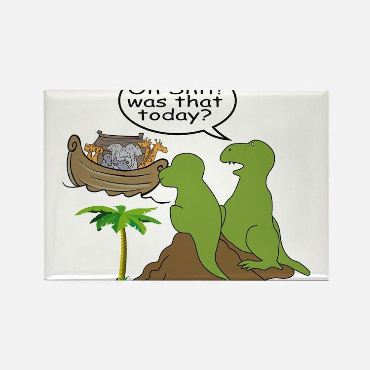 Cute Funny dinosaur Rectangle Magnet