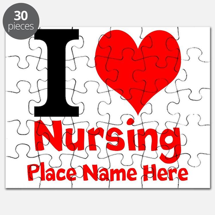 I Love Nursing Puzzle