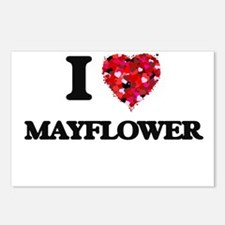 I love Mayflower Massachu Postcards (Package of 8)