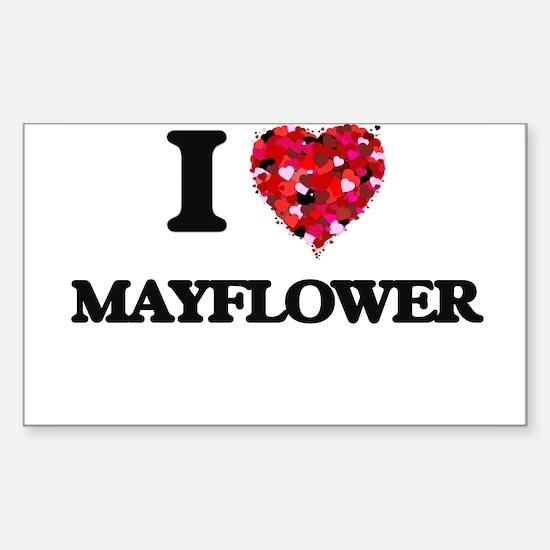 I love Mayflower Massachusetts Decal