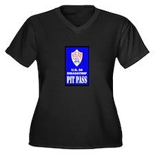 U S 30 Dragstrip Pit Pass Plus Size T-Shirt