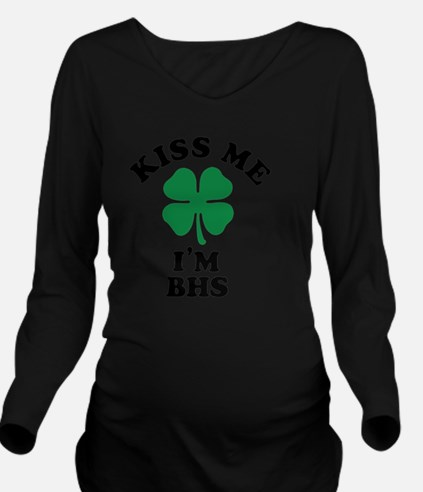 Funny Bhs Long Sleeve Maternity T-Shirt