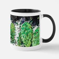 Cactus Flower Mugs