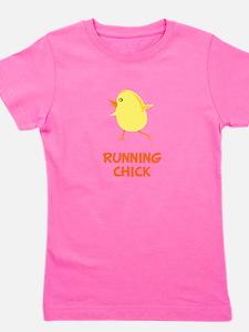 Unique Runner chick Girl's Tee