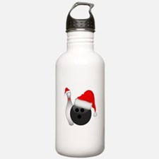 Christmas Bowling Water Bottle