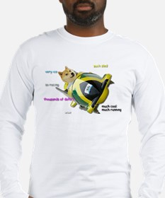 Doge funded Jamaican Bobsled T Long Sleeve T-Shirt