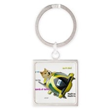 Doge funded Jamaican Bobsled Team Keychains