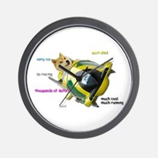 Doge funded Jamaican Bobsled Team Wall Clock