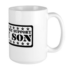 Proudly Support Son - USAF Mug