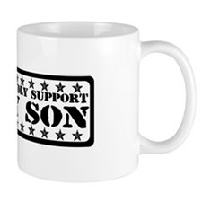 Proudly Support Son - USAF Mug
