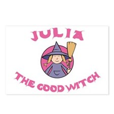 Julia the Good Witch Postcards (Package of 8)