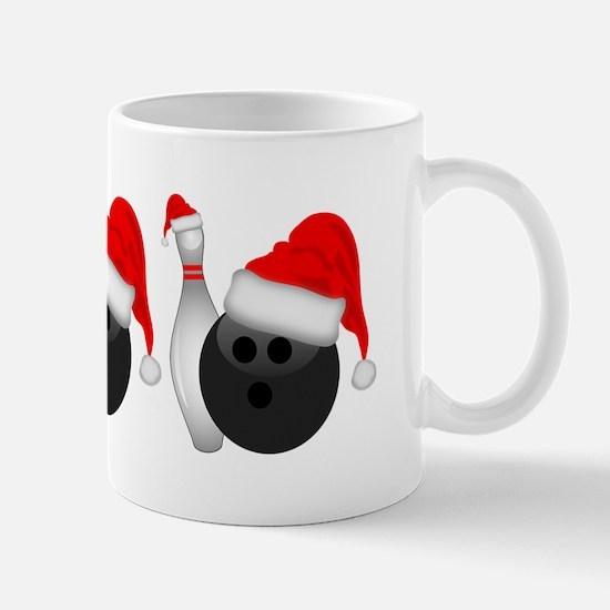 Christmas Bowling Mugs